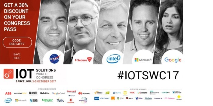 Descuento IoT Solutions World Congress 2017