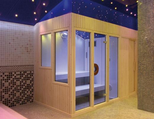 Baño Turco Sauna Diferencia:Saunas y baños turcos: características y suministradores-Piscinas