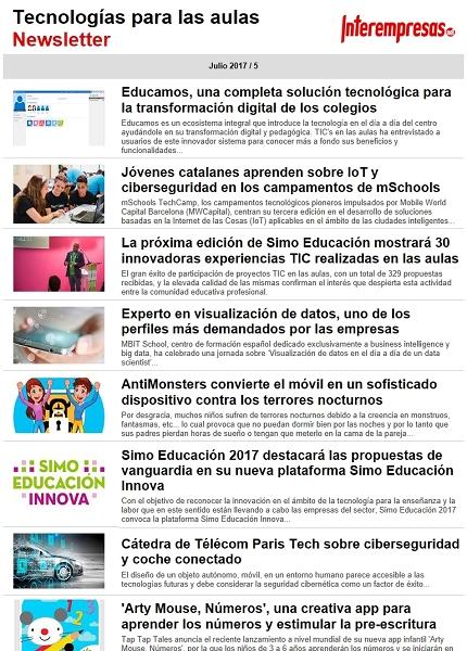Tecnologías para las aulas
