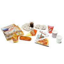 Envases de cartón para comida rápida