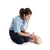 Maniquí de enfermería bebé