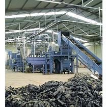 Instalaciones de reciclado de materiales