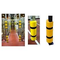 Protectores para estanterías metálicas y racks