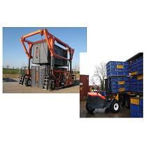 Carretillas especializadas para granjas avícolas