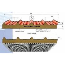 Paneles metálicos para cubiertas