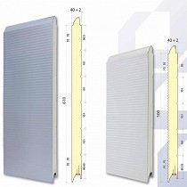 Paneles para puertas seccionales