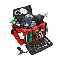 Cajas, bolsas y mochilas de primeros auxilios