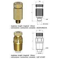 Atomizadores hidráulicos