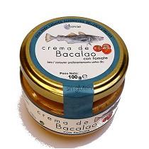 Crema de bacalao con tomate