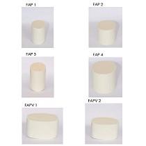 Filtros antipartículas en cordierita
