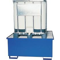 Cubetos de retención metálicos