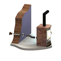 Chimeneas de simple pared