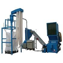Equipo de instalación de reciclaje en dos etapas