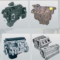 Motor industrial pesado