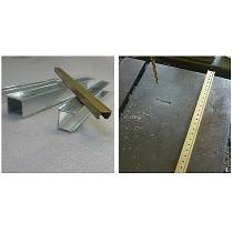 Cubreranuras de aluminio