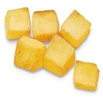 Dados de patata congelados