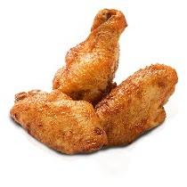 Alitas de pollo congeladas