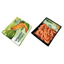 Langostinos cocidos ecológico refrigerado