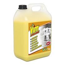 Detergente alcalino cloro activo