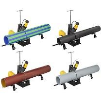 Cortadoras de tubos móvil y compacta