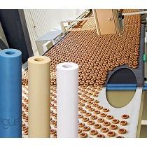 Rodillos de plástico para cintas transportadoras