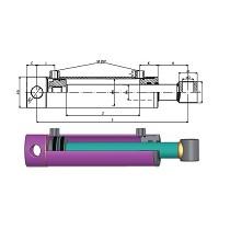 Cilindros hidráulicos estándar