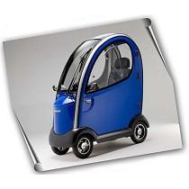 Scooters eléctricos cabinados