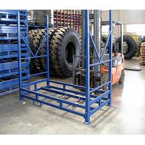 Palets metálicos para neumáticos