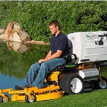 Lawnmowers autoportantes Of radius of twist zero