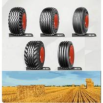 Neumáticos diagonal no motrices