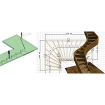 Software CAD para la creación de proyectos de escaleras