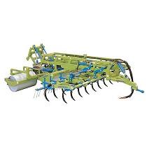 Rodillos cultivadores plegables hidráulicos