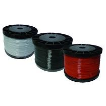 Bobinas de alambre de colores