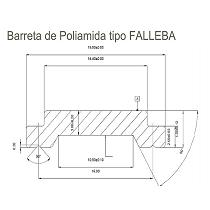 Barretas de Poliamida
