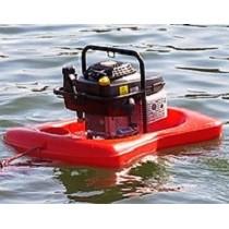Motobomba flotante