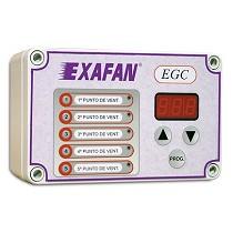 Etapas intermedias de control de ventilación