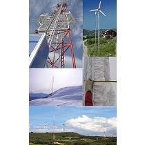 Trabajos a medida de torres auto-soportadas y arriostradas