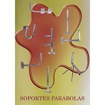 Soportes para parábolas y material satélite