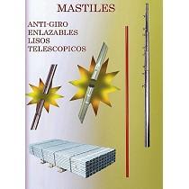 Mástiles para antenas terrestres y satélite
