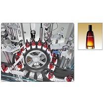 Monobloc autom�tico para el tratamiento de perfumes con bomba spray
