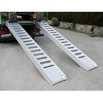 Rampas de carga de aluminio