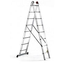 Escalera de alumino de tijera
