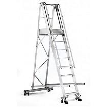 Escalera de aluminio para agricultura