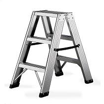 Escalera de poca altura con escalones