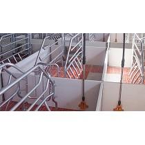 Sistemas de alojamientos de vallas de PVC