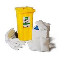 Kits absorbentes para hidrocarburos