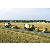 Frenos de inercia para maquinaria agrícola