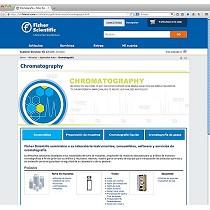 Minisite para cromatografía