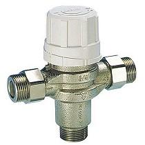 Válvulas mezcladoras termostáticas