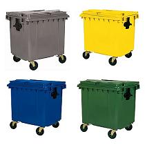 Contenedores para residuos de 1.100 litros
